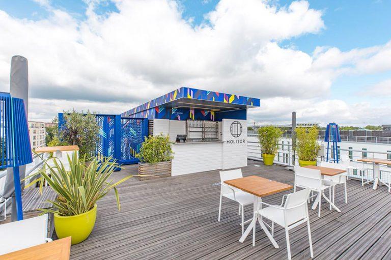 terrasse rooftop solarium molitor