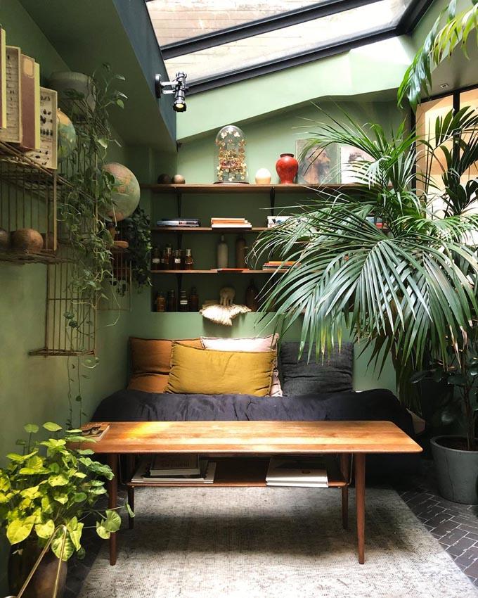 salon végétal coq hôtel